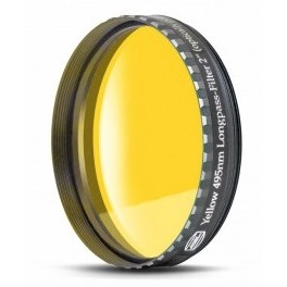Filtro giallo 50.8mm 495nm