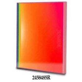 Filtro R (Rosso) quadrato da 50x50mm