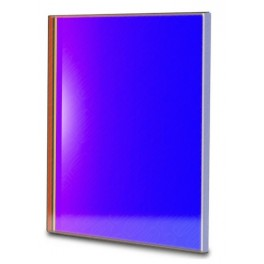Filtro B (Blu) quadrato da 65x65mm