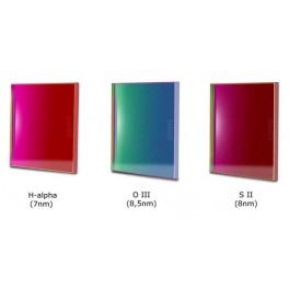 Set filtri banda stretta 50x50mm CCD