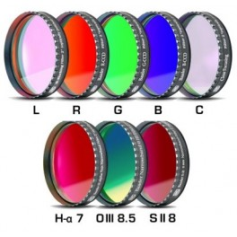 Set LRGBC +H-a(7nm)+OIII(8,5nm)+SII(8nm) 50,8mm