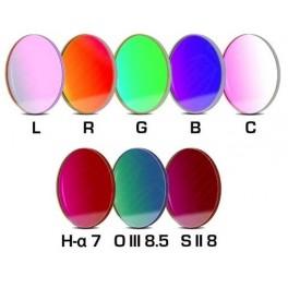 Set LRGBC +H-a(7nm)+OIII(8,5nm)+SII(8nm) 36mm