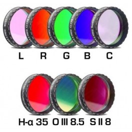 Set LRGBC +H-a(35nm)+OIII(8,5nm)+SII(8nm) 31,8mm