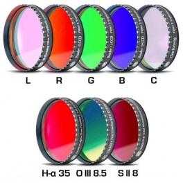 Set LRGBC +H-a(35nm)+OIII(8,5nm)+SII(8nm) 50,8mm