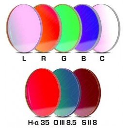 Set LRGBC +H-a(35nm)+OIII(8,5nm)+SII(8nm) 50,4mm