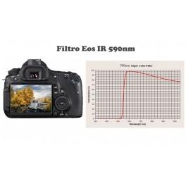 Modifica APS-C Canon 7D Filtro IR590nm