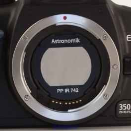 Astronomik ProPlanet 742 Ir pass Clip per Canon Eos APS C