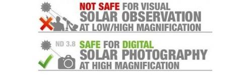 Filtri Solari (uso fotografico)