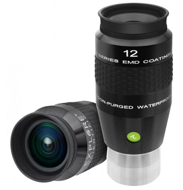 OculareExplore Scientific LER conbarilotto da 50.8mm- campo apparente 92°- lunghezza focale 12mm