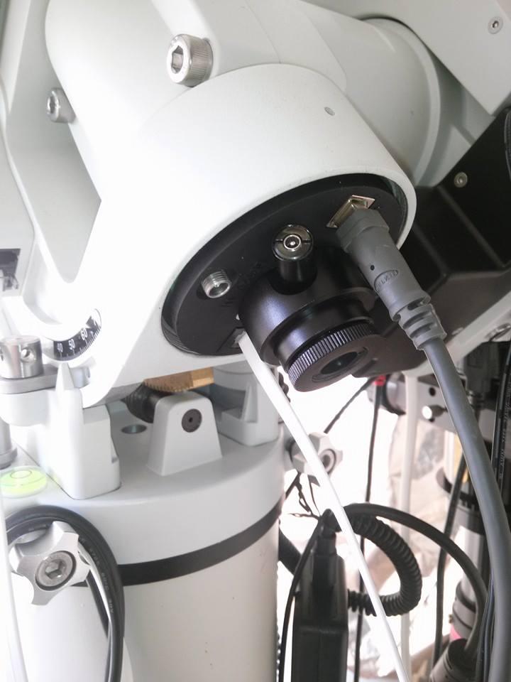Ioptron CEM 60 - bilanciamento centrale - 27kg di carico reali - peso di 12.3kg - versione con encoder assoluto