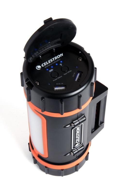 Power Tank al Litio Celestron :batteria ricaricabile portatile a base di batterie ricaricabili al litio con fosfati di ferro