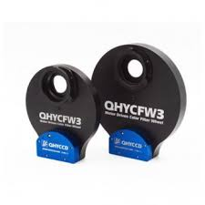 QHYCFW3-M is a 3rd generation medium size motorised colour filter wheel [EN]