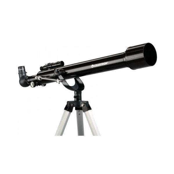 Telescopio ultraleggero PowerSeeker 60AZ, con accessori e treppiede in alluminio