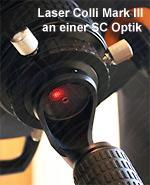 Laser-ColliTM Mark III. Sistema di collimazione laser per Newtoniani e alcuni Schidmt-Cassegrain