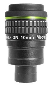 Baader Hyperion Oculare Grandangolare - Lunghezza focale 10 millimetri - barilotto da 31,8mm e 50,8mm - 68° di campo