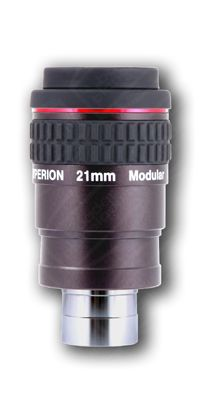 Baader Hyperion Oculare Grandangolare - Lunghezza focale 21 millimetri - barilotto da 31,8mm e 50,8mm - 68° di campo