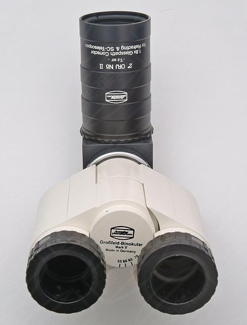 """Correttore ottico di tiraggio e di coma da 2"""" per telescopi Newton. Fattore di amplificazione focale 1.7X, per Mark V, con adattatore per torretta MaxBright"""