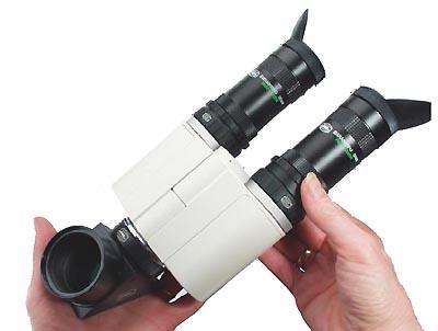 Torretta Binoculare gigante Zeiss Mark V, per visioni magnifiche con ogni telescopio