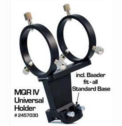 Cercatore Baader 60 millimetri VARIO - con obiettivo da 60/250 millimetri -dotato di anelli MQR (articolo 2457030)