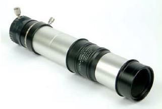 Super-Barlow Fluorite Flatfield Converter (FFC) / 4x-8x quattro lenti con due elementi in fluorite, passo T-2 (necessita di prortaoculari e prolunghe T-2)