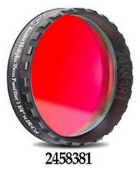 """Filtro H-alpha da 1¼"""" (31.8mm) di diametro, per CCD, con banda passante (FWHM) di 35nm, e cella a basso profilo"""