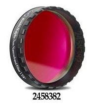 """Filtro H-alpha a banda stretta da 7nm FWHM, diametro 1¼"""" (31.8mm), per CCD, con cella a basso profilo"""