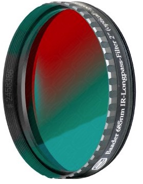 "Filtro IR-Pass da 2"" (50.8mm) da 685nm"