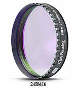 """Filtro C (Clear) da 2"""" (50.8mm), con cella a basso profilo, ideale per proteggere sensore ed oculari dalla polvere (no IR-cut)"""