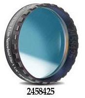 """Filtro H-beta a banda stretta da 8.5nm FWHM, diametro 1¼"""" (31.8mm), per CCD, con cella a basso profilo"""