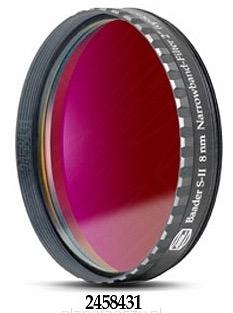 """Filtro SII a banda stretta da 8nm FWHM, diametro 2"""" (50.8mm), per CCD, con cella a basso profilo"""
