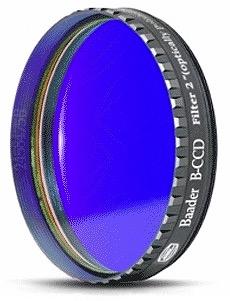 """Filtro B (Blu) da 2"""" (50.8mm), per CCD, con cella a basso profilo"""