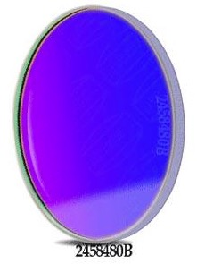Filtro B (Blu) da 50.4mm, per CCD, senza cella