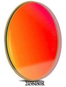 Filtro R (Rosso) da 50.4mm, per CCD, senza cella