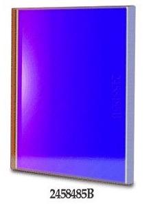 Filtro B (Blu) quadrato da 50x50mm, per CCD, senza cella