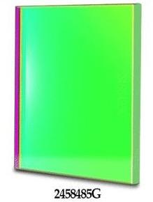 Filtro G (Verde) quadrato da 50x50mm, per CCD, senza cella