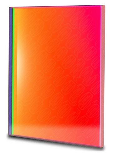 Filtro R (Rosso) quadrato da 65x65mm, per CCD, senza cella (spessore vetro 3mm)