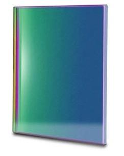 Filtro OIII a banda stretta da 8.5nm FWHM, quadrato da 65x65mm, per CCD, senza cella (spessore vetro 3mm)