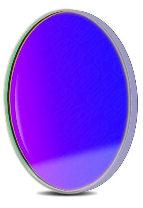 Filtro B (Blu) da 36mm, per CCD, senza cella (spessore vetro 2mm)