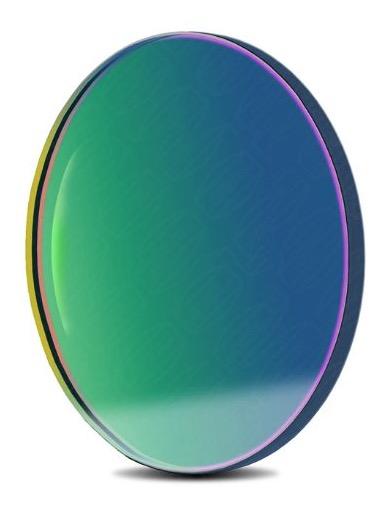 Filtro OIII a banda stretta da 8.5nm FWHM, diametro di 36mm, per CCD, senza cella (spessore vetro 2mm)