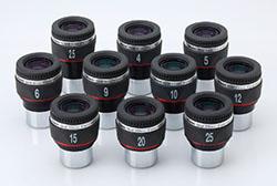 """Oculare Vixen - barilotto 1.25"""" - 50° campo apparente - lunghezza focale 25mm"""