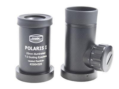 Oculare Polaris I - f 25mm, con reticolo di misurazione illuminato, raccordo T-2