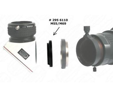 "Adattatore Diagonale 2"" ClickLock - passo M55/M68 (standard Zeiss)"