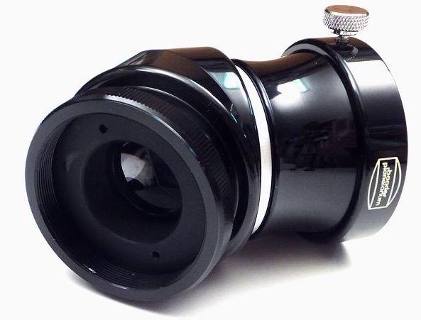 """Prisma Eretto raddrizzatore a 45° da 2"""" (50.8mm), con filettatura per SC (Schmidt-Cassegrain) da 2"""" e riduttore 2"""" / 1¼"""" (31.8mm)"""