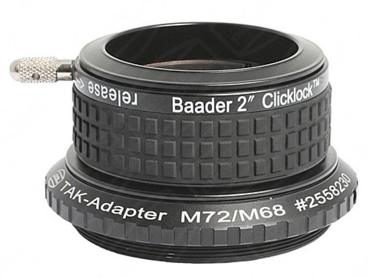 """Portaoculari ClickLock da 2"""" (50.8mm) con aggancio M72 (standard Takahashi)"""