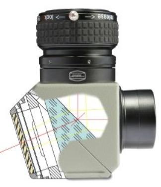 """Prisma di Herschel Cool Ceramic da 2"""" (50.8mm) con serraggio ClickLock. VERSIONE FOTOGRAFICA con inclusi 4 filtri neutri ND da 2"""" (densità 0.6/0.9/1.8/3.0), filtro Continuum da 2"""" e valigetta"""