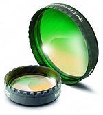 """Prisma di Herschel Cool Ceramic da 2"""" (50.8mm) con serraggio ClickLock. VERSIONE VISUALE, con inclusi filtro neutro da 2"""" (densità 3.0), filtro Continuum da 2"""" e valigetta"""
