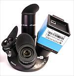 Torretta portaoculari Q. Consente l'uso fino a 4 oculari da 1¼ (31.8mm)
