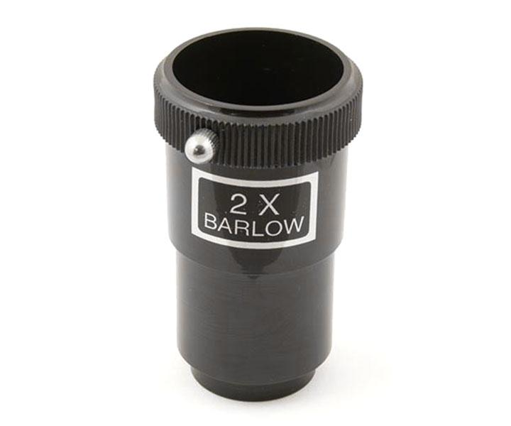 "Barlow Lens 2x 1.25"" (31.7 mm) for telescopes - short  [EN]"