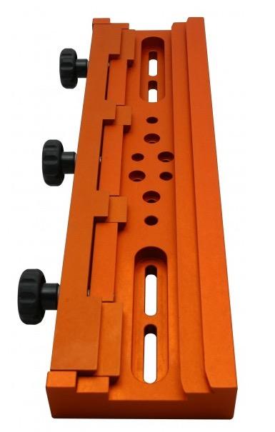 G-Rex, doppio morsetto gigante per slitte Vixen/GP e Losmandydi colore arancione