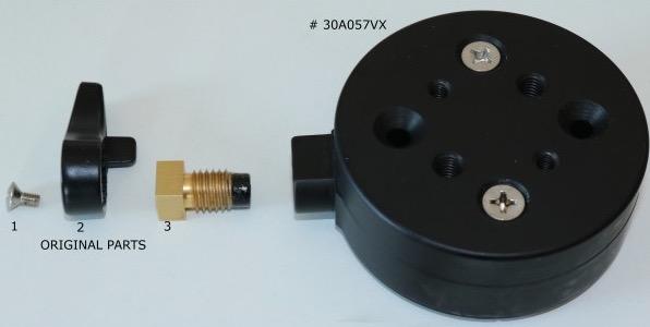Flangia di connessione da montatura Advanced VX ai morsetti Geoptik (codice 30A074,30A077 e 30A057)